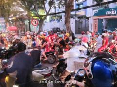 Мотоциклы, байки в Сайгоне, Хошимине, Вьетнаме