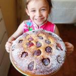 Вкусный пирог со сливами рецепт с фото