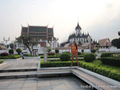 Wat Ratchanaddaram – Храм Ратчанадарам, Бангкок