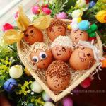 Как покрасить яйца с детьми на пасху