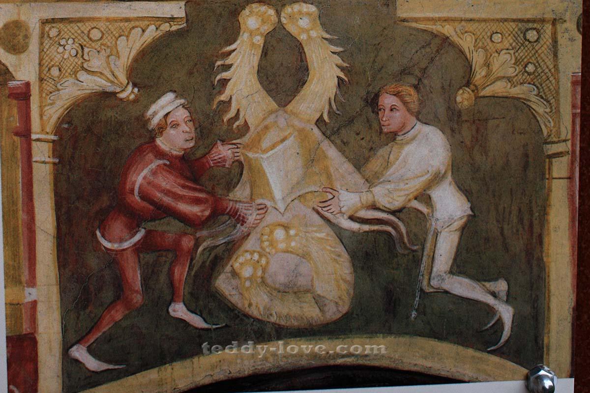 Щедрые меценаты настенной живописи – тирольские бюргеры братья Винтлер