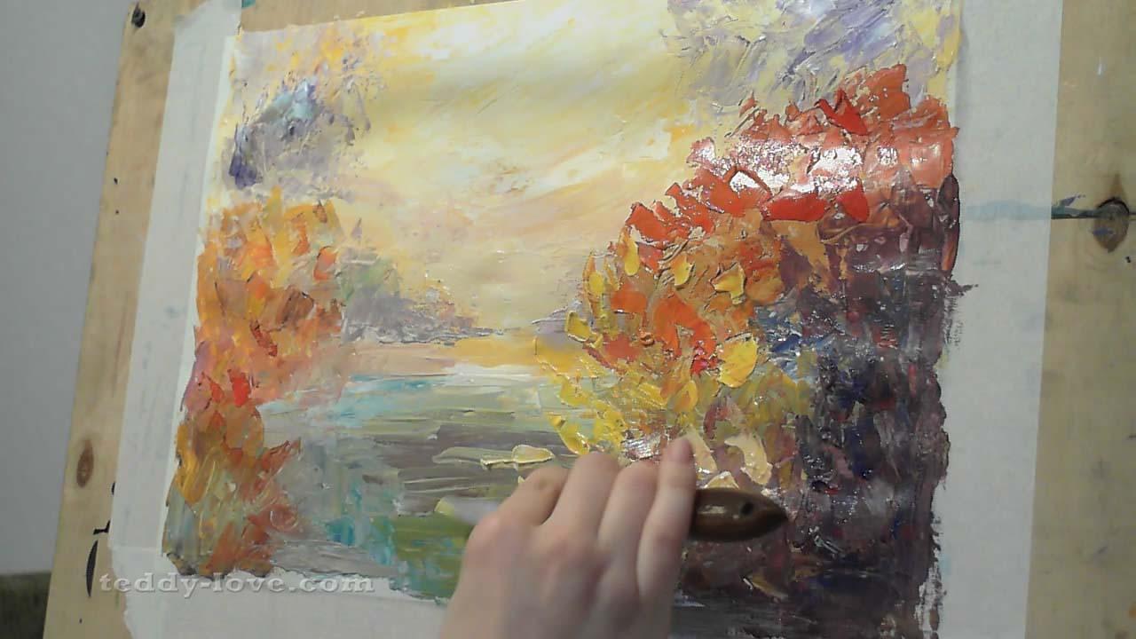 Материалы и инструменты для живописи
